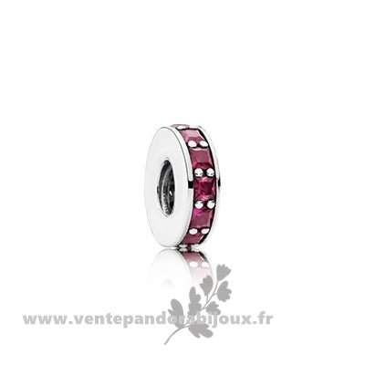 Bon Marché Pandora Pandora Espaceurs Charms Eternity Spacer Synthetic Ruby
